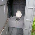 Туалет с летним душем для дачи 5