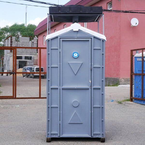 Туалет с летним душем для дачи 4