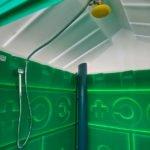 Туалет с летним душем для дачи 3