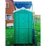 Туалет с летним душем для дачи 2