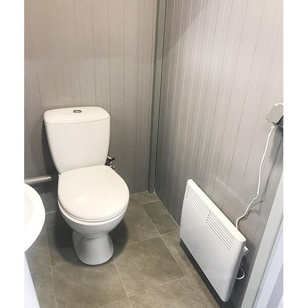 Теплый туалет зимой 3