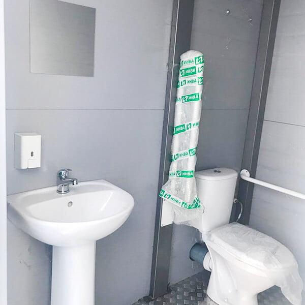 Теплый туалет зимой Комфорт 1