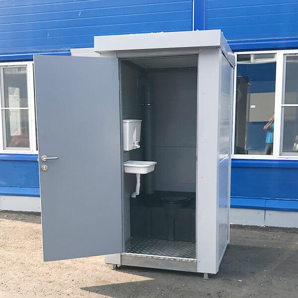 Теплый туалет зимой 15