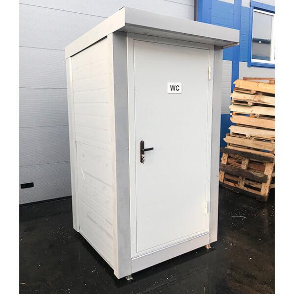 Теплый туалет зимой 13