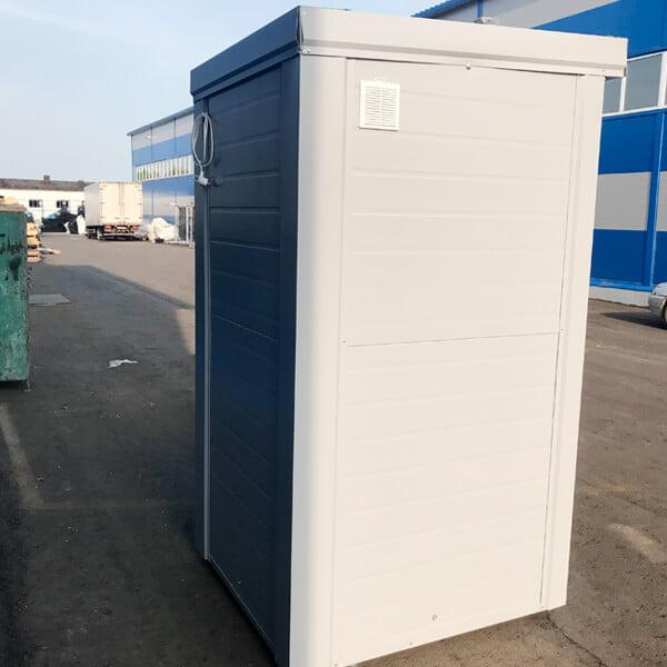Теплый туалет зимой 10