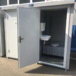 Теплая туалетная кабина Комфорт 006
