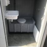 Теплая туалетная кабина Комфорт 007