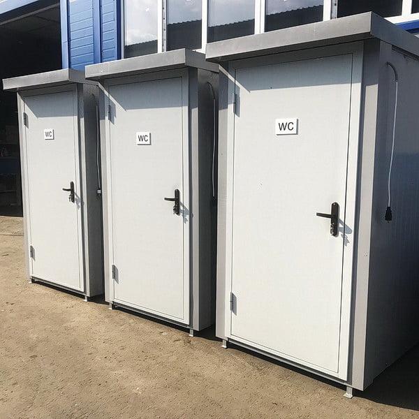 Теплая туалетная кабина Комфорт 009