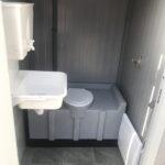 Теплая туалетная кабина Комфорт 011