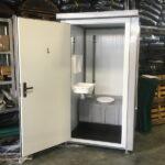Теплая туалетная кабина Комфорт 027