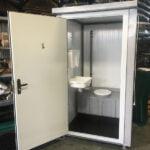 Теплая туалетная кабина Комфорт 031