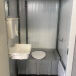 Теплая туалетная кабина Комфорт 038
