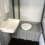 Теплая туалетная кабина Комфорт 048