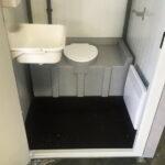 Теплая туалетная кабина Комфорт 049