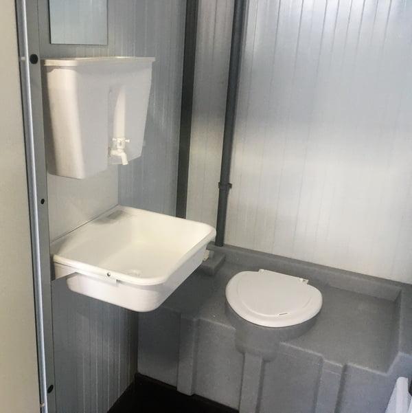Теплая туалетная кабина Комфорт 052