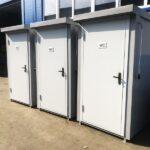 Теплая туалетная кабина Комфорт 073