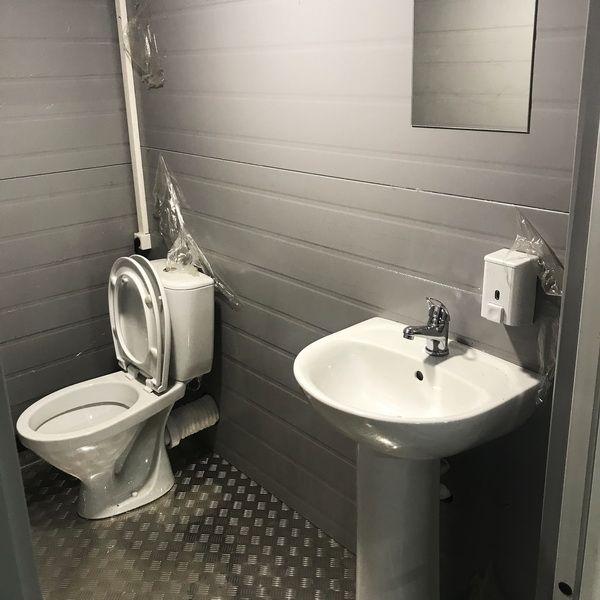 Теплая туалетная кабина Комфорт 104
