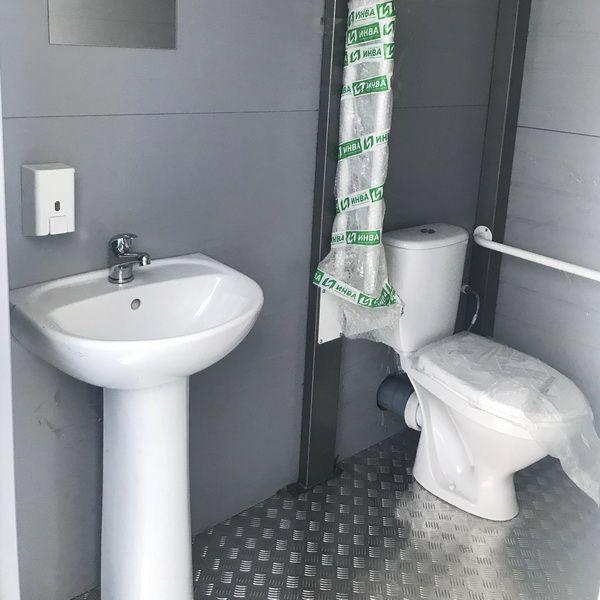 Теплая туалетная кабина Комфорт 106