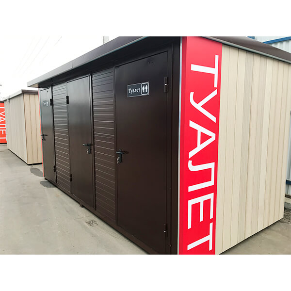 Автономные модульные туалеты 14