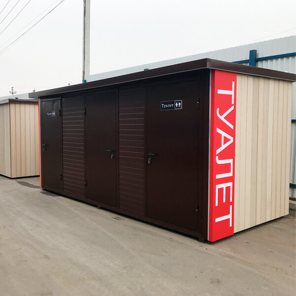 Автономные модульные туалеты 6
