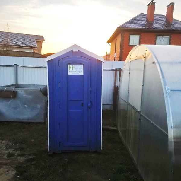 Туалет для строителей 058