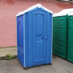 Туалет для стройки 002