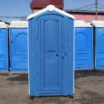 Туалет для стройки 007