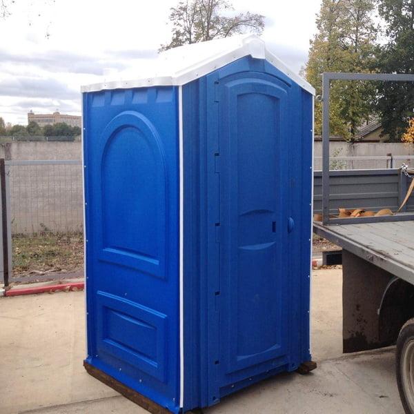 Туалет для стройки 013