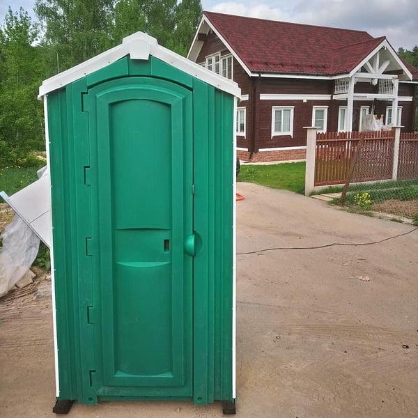 Туалет для стройки 020