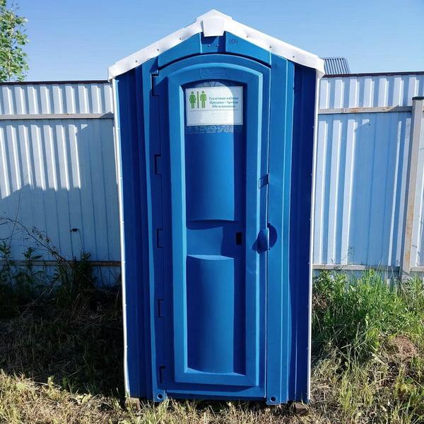 Туалет для стройки 021