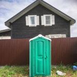 Туалет для стройки 025