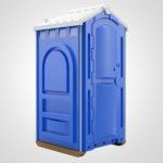 Туалет для стройки 039
