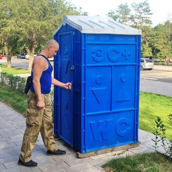 Туалетная кабина Биотуалет 0021
