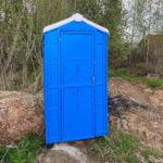 Туалетная кабина биотуалет p001