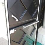 Туалетная кабина черная биотуалет эконом 014