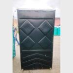 Туалетная кабина черная биотуалет эконом 021