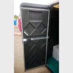 Туалетная кабина черная биотуалет эконом 022