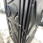 Туалетная кабина черная биотуалет эконом 026