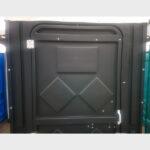 Туалетная кабина черная биотуалет эконом 027