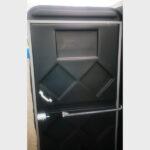 Туалетная кабина черная биотуалет эконом 039
