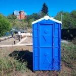 Туалетная кабина Дачник Универсал 009