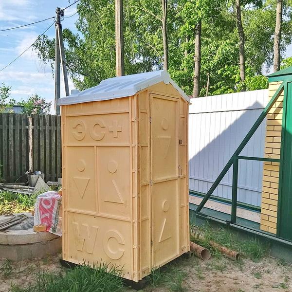 Туалетная кабина Дачник Универсал 013