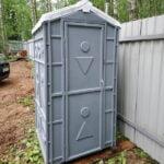 Туалетная кабина Дачник Универсал 021