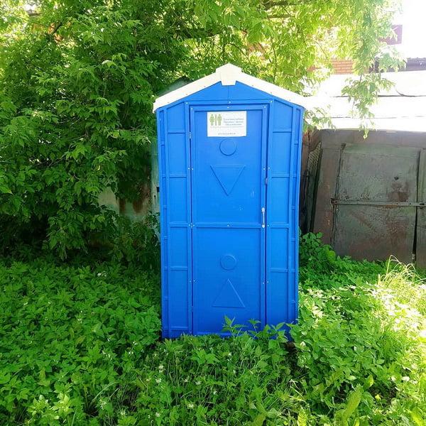 Туалетная кабина Дачник Универсал 028-1