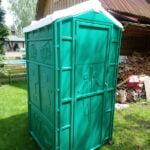 Туалетная кабина Дачник Универсал 042