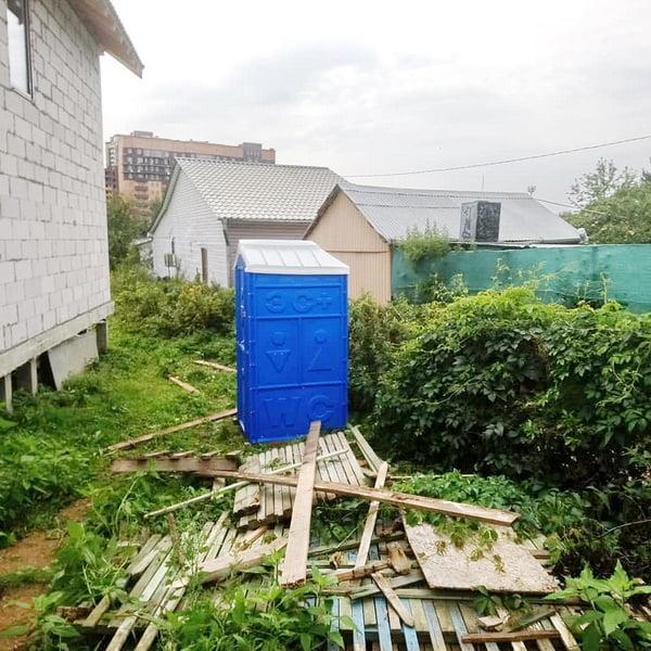 Туалетная кабина Дачник Универсал 054