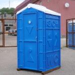 Туалетная кабина для дачи 0002