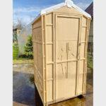 Туалетная кабина для дачи 0002-5