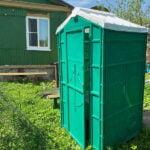Туалетная кабина для дачи 0003-5