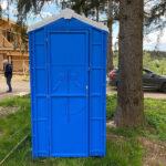 Туалетная кабина для дачи 0004-5